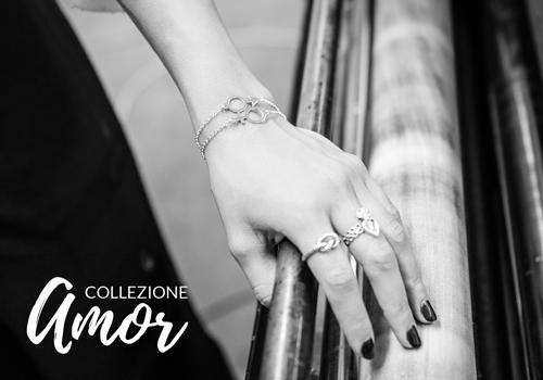 Silverx collezione Amor